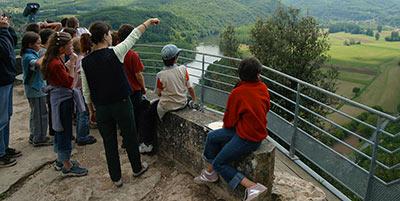 Groupes scolaires et écoles aux Jardins de Marqueyssac Sarlat Dordogne