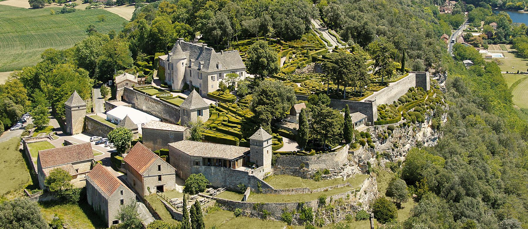 The overhanging gardens of Marqueyssac in Dordogne Sarlat Périgord
